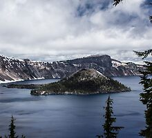 Crater Lake by Cynthia Broomfield