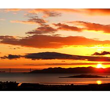 Bay Area Sunset Photographic Print