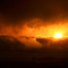 Sunset in the Clouds by missk8