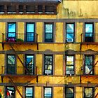 Yellow Building NYC by Ellen  Hagan