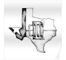 Texas Craft Beer Poster