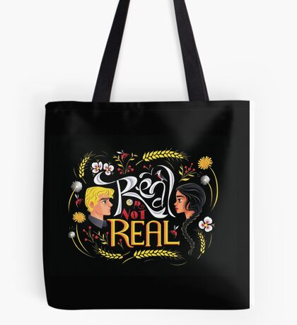 Real Or Not Real Tote Bag