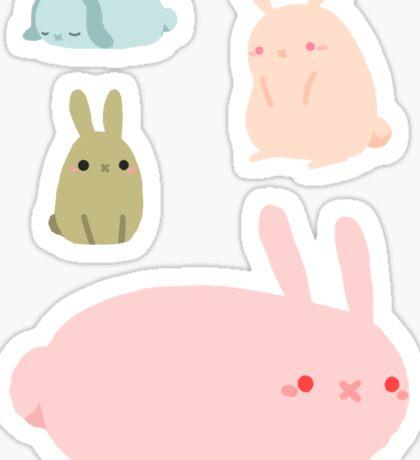 Bunny Sticker Sheet Sticker