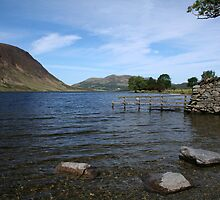 View across Crummock Water by Marilyn Harris