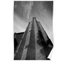 Clock Tower, St John's Anglican Church, Camden, NSW Poster
