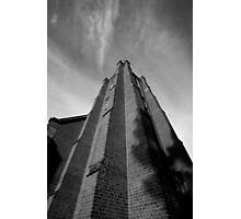 Clock Tower, St John's Anglican Church, Camden, NSW Photographic Print