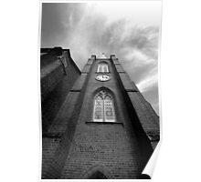 Towards the heavens, St John's Anglican Church, Camden, NSW Poster