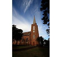 St John's Anglican Church, Camden, NSW Photographic Print