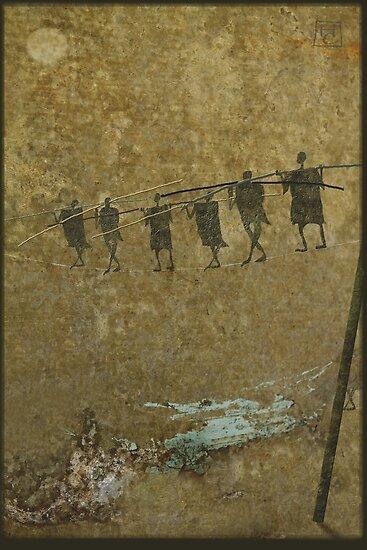 high wire by Nikolay Semyonov