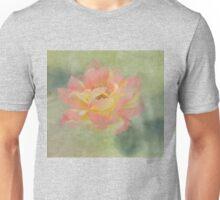Apricot Miniature Rose Unisex T-Shirt