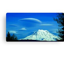 Lenticular Afternoon Canvas Print