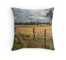 Farm property at Grenfell Throw Pillow