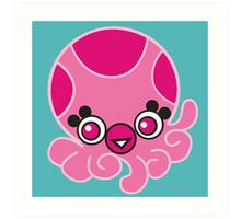 LOTUS - MAGICAL OCTOPUS Art Print