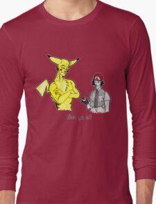 Pikachu is stronger than you Long Sleeve T-Shirt