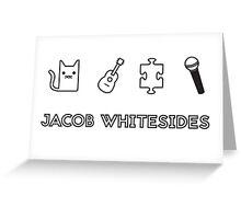 Jacob Whitesides icon Greeting Card