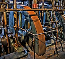 Little Cogs In A Big Wheel by TonyCrehan