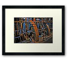 Little Cogs In A Big Wheel Framed Print