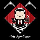 Hello Agent Cooper by Mephias