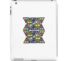 colourful triangles iPad Case/Skin