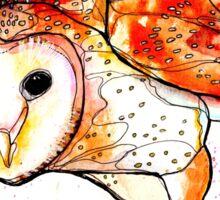Jane's Owl I Sticker