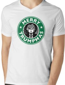 Merry Christmas Donald Trump! Sincerely, Starbucks  Mens V-Neck T-Shirt