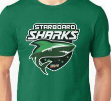 Trek.fm: Starboard Sharks Unisex T-Shirt