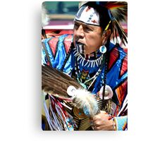 Warrior of Peace Canvas Print