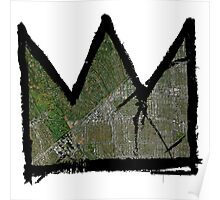 """Basquiat """"King of Beverly Hills California""""  Poster"""