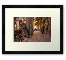 Cathedral St Jean - Lyon, France Framed Print
