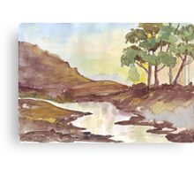 Sunrise & Hope Canvas Print