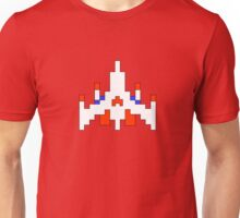 Galaga Fighter Ship Unisex T-Shirt
