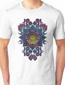Psychedelic Fractal Manipulation Pattern Unisex T-Shirt