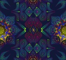 Psychedelic Fractal Manipulation Pattern by Manafold