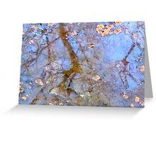 Blue Wetlands 1 Greeting Card