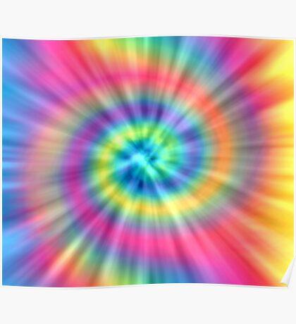Tie Dye Effects Poster