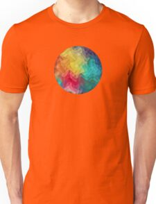 Abstract Color Wave Flash Unisex T-Shirt