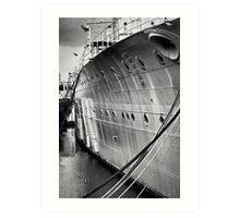 SOS - Save Our Ship Art Print