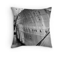 SOS - Save Our Ship Throw Pillow