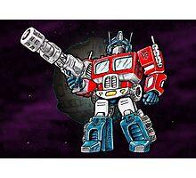 Transformers Optimus Prime Chibi Photographic Print