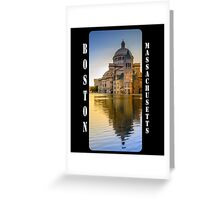 The First Church of Christ, Scientist, in Boston, Massachusetts Greeting Card