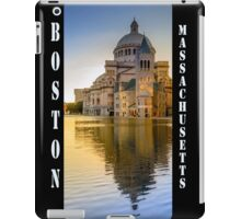 The First Church of Christ, Scientist, in Boston, Massachusetts iPad Case/Skin