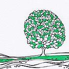 Oak Tree by Dormont Hill by PennyArt