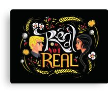 Real Or Not Real Canvas Print