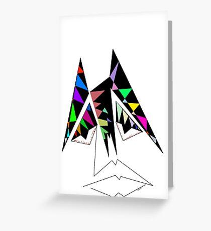 Es, toned. Greeting Card