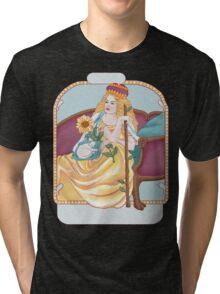 Queen of Wands Tri-blend T-Shirt
