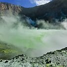 White Island Crater by Werner Padarin
