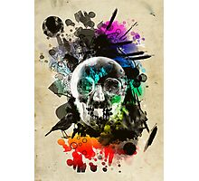 skull explosion Photographic Print