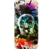 skull explosion iPhone Case/Skin