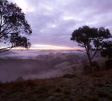 Sunrise Valley of a Thousand Hills - Victoria by OzNatureshots