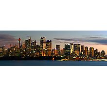 The City of Sydeny Photographic Print